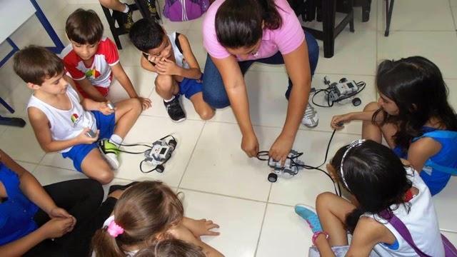 Natal: Escola Lápis de Cor leva projeto de robótica da UFRN para Educação Infantil