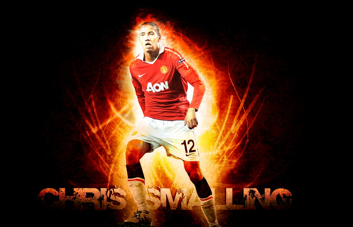 Manchester United Wallpaper Android Phone: Chris Smalling