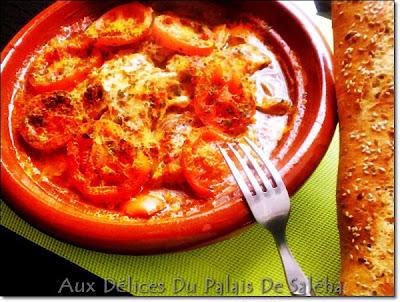 Tajine de poisson à la marocaine - recette indexée dans les Poissons