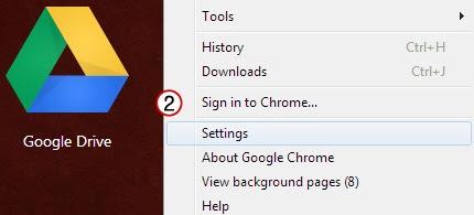 pilih settings