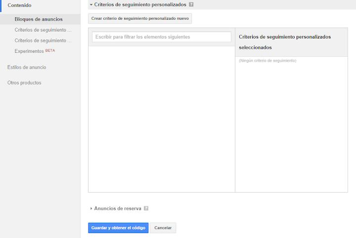 Como crear y configurar una cuenta de Google AdSense para tu blog