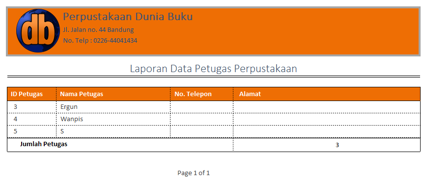 Download Aplikasi Perpustakaan Berbasis Ms Access