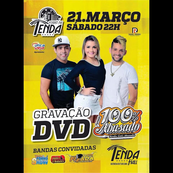 Grava��o do DVD 100% Abusado