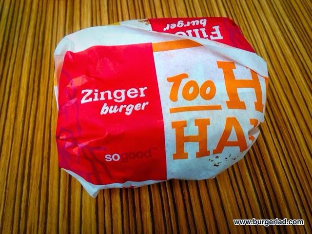 KFC Zinger Burger