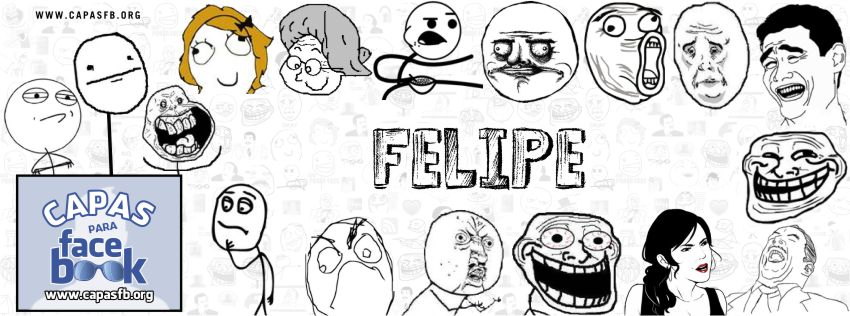 Capas para Facebook Felipe