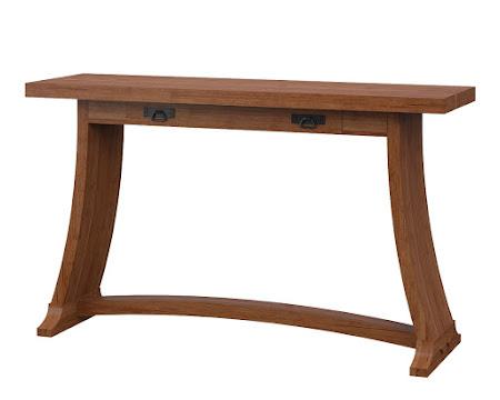 Adagio Sofa Table in Itasca Maple