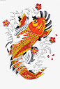 Koi Fish Tattoo Drawing 4