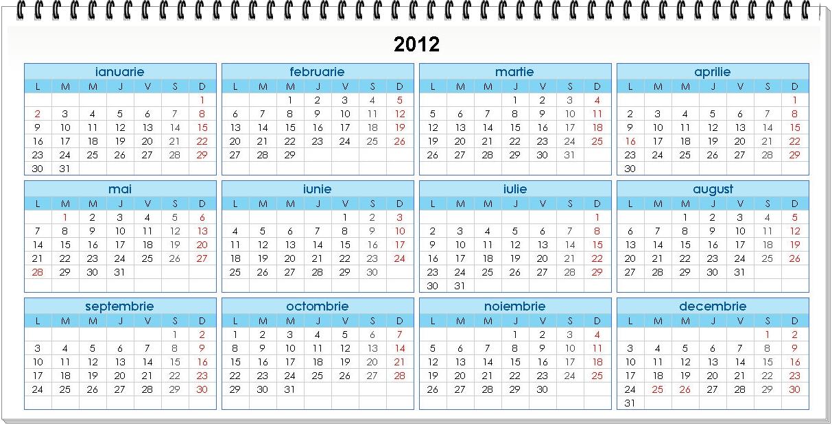 Have you laughed today ?: Calendar 2012 România