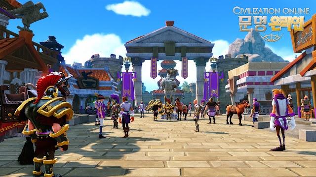 Cận cảnh gameplay của Civilization Online 16