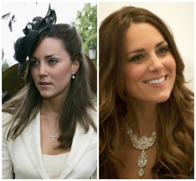 A sobrancelha faz a diferença: Kate Middleton