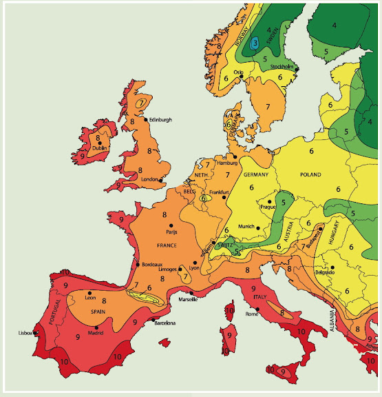 Italia Climatica Cartina.Boga Telegraf Przeterminowany Cartina Fasce Climatiche Europee Podatne Na Szansa Miekisz
