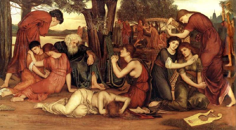 Evelyn De Morgan - At the waters Babylons