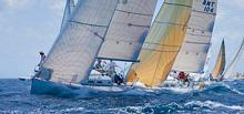 J/122 offshore racer cruiser sailboat sailing St Barths regatta