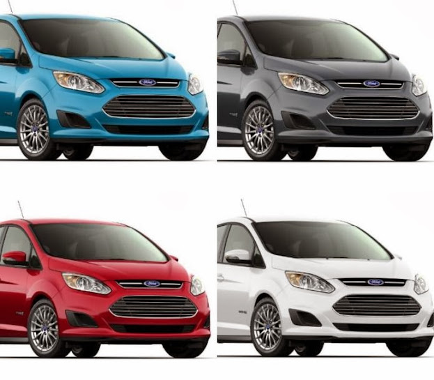 2015 Ford C-MAX Hybrid With New Changes On Grille And Facelift