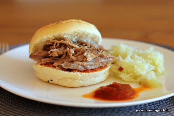 nachgekocht pulled pork aus dem backofen umwerfend gut sch ner tag noch food blog mit. Black Bedroom Furniture Sets. Home Design Ideas