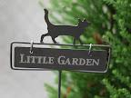 ガーデンアクセサリー:猫ピック