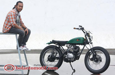 Modifikasi Honda CB 100 Jadul_10