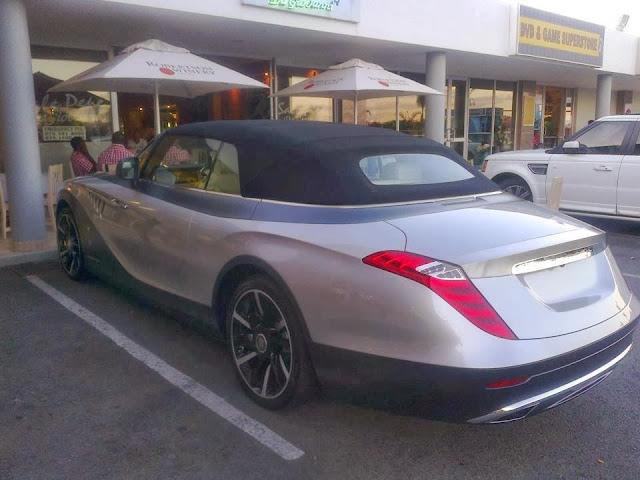 BENTLEY SPOTTING RollsRoyce Phantom Drop Head Coupe by Pininfarina