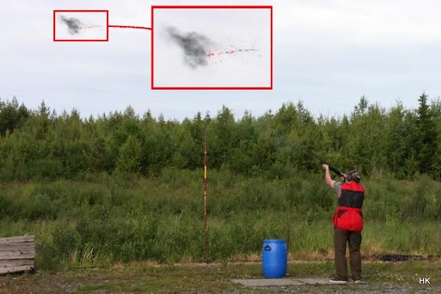 Haulikkoradalla metsästysammuntaa