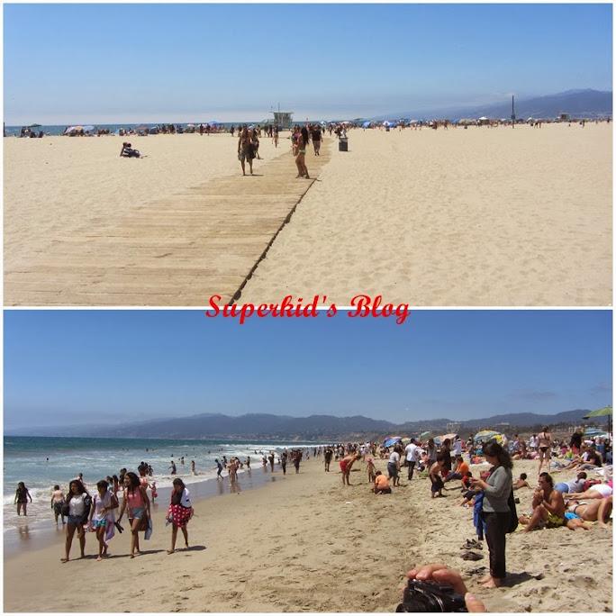 Santa Monica的海灘