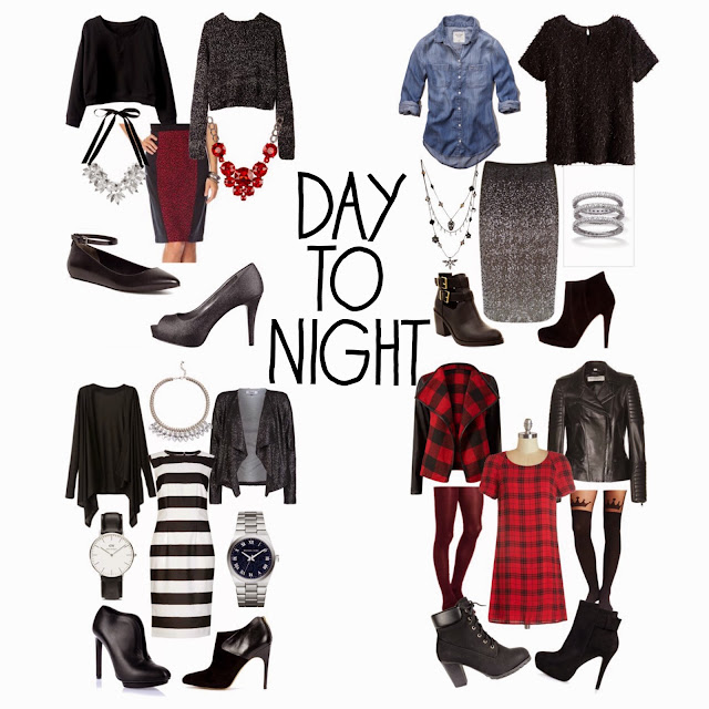 Sets, Style, Fashion, Day to Night, day/night transitions, one piece two ways, holiday sets, midi skirt, midi dress, style sets
