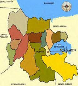 Mapa Municipio Los Guayos