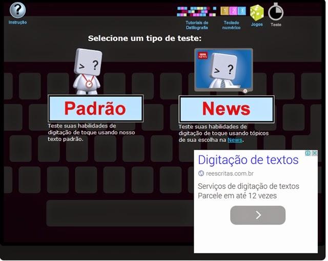padrão ou news
