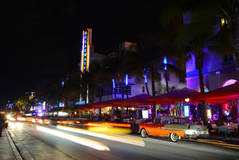 Ocean Drive at Night, Miami