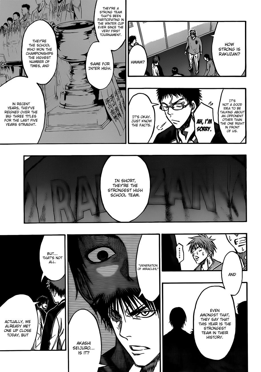 Kuroko no Basket Manga Chapter 174 - Image 17