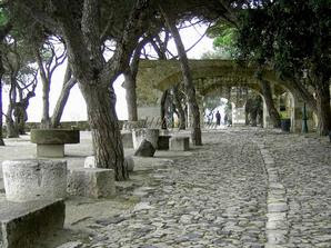 Крепость Сан Жорже в Лиссабоне