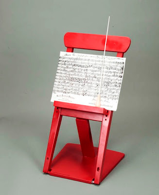 """""""red chairs"""" created by arts organizations for the """"Red Chair Affair"""""""