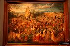 Brueghel, el viejo. La procesión al calvario. 1564
