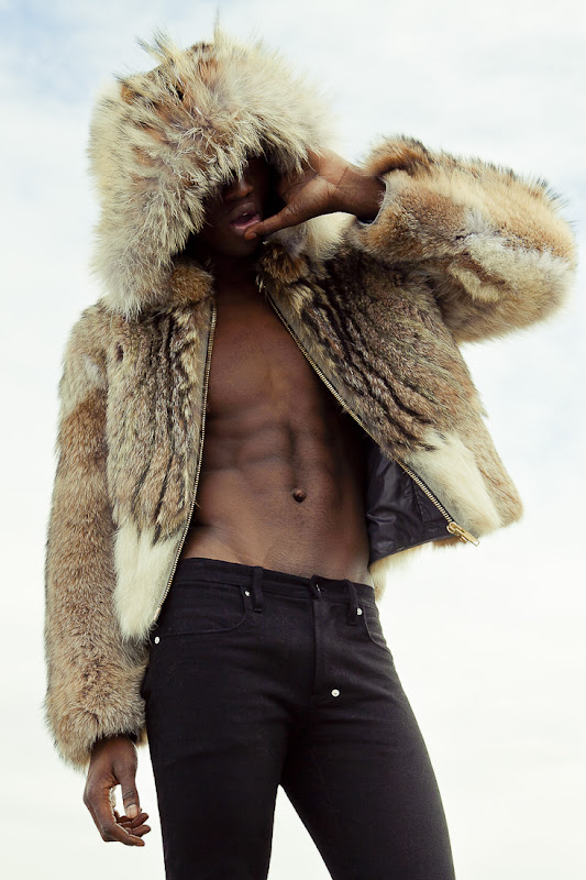 Adonis Bosso @ Montage by Rainer Torrado. Clothes by Travis Taddeo, November 2011