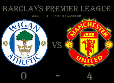 Wigan Athletic vs Manchester United, Man Utd Results