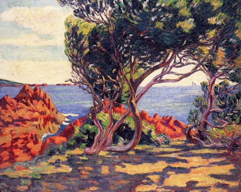 Armand Guillaumin - Agay, a Cap Long
