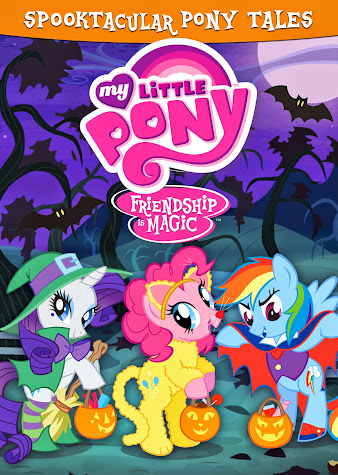 My Little Pony Friendship is Magic: Spooktacular Pony Tales DVD