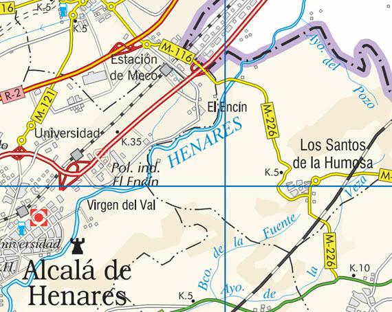 Reabierto la carretera M-226 entre Los Santos de la Humosa y el enlace con la A-2