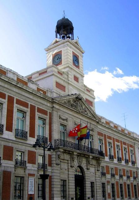 Real casa de correos viendo madrid for La real casa de correos