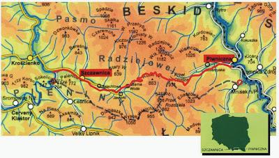 Kolej wąskotorowa LNG. Pociąg na gaz ziemny Piwniczna-Zdrój - Szczawnica