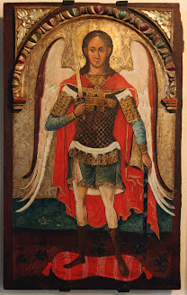 ICONS Archangel Michael, 17th century