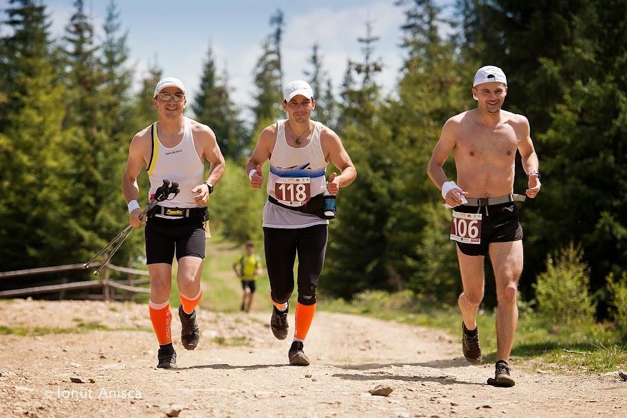 Finish in echipa la Maraton Apuseni 2014