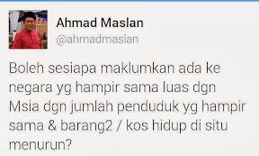 Siapa Boleh Jawab Teka-teki Dari Ahmad Maslan?