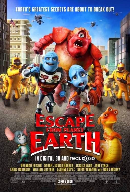 Poster Of Escape from Planet Earth (2013) Full Movie Hindi Dubbed Free Download Watch Online At Alldownloads4u.Com