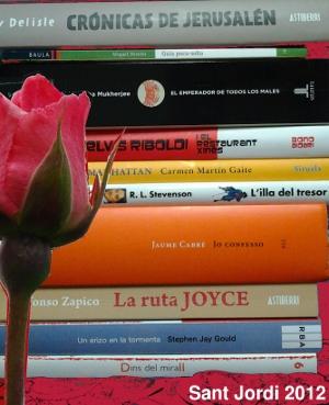 Recomanacions Sant Jordi 2012