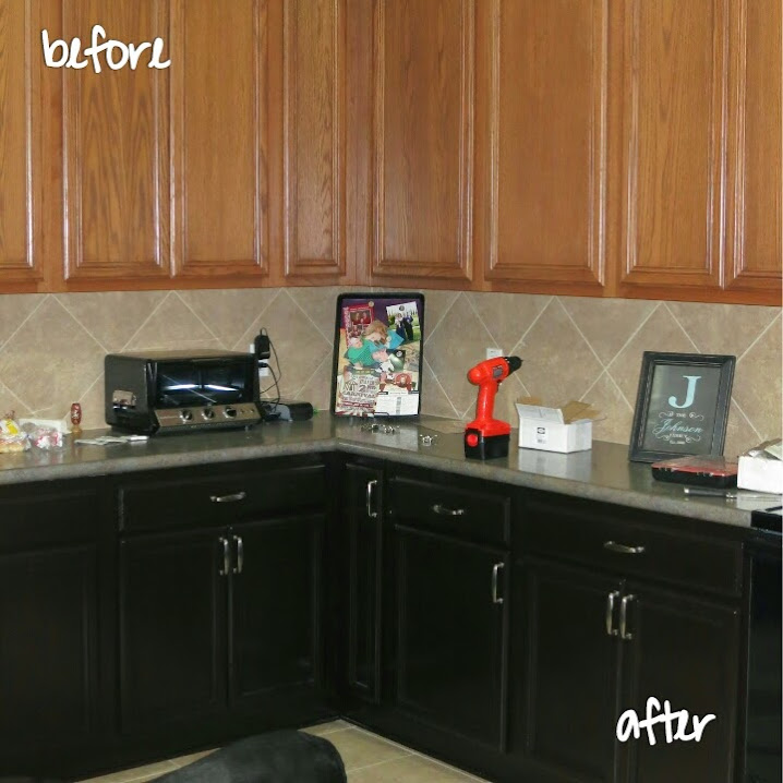 Gel Staining Kitchen Cabinets: Staining The Kitchen Cabinets