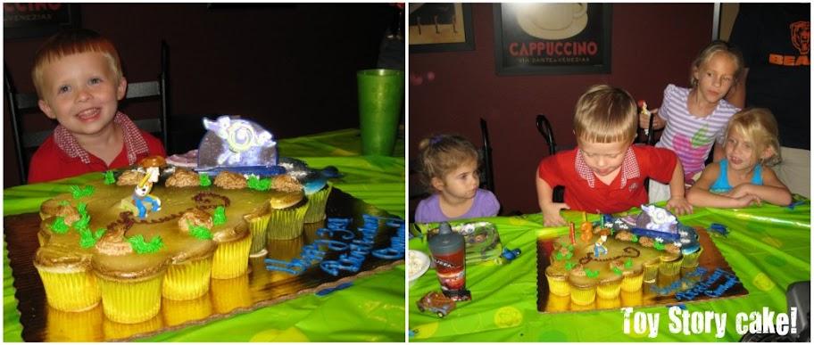 Toy Story Birthday Cake Publix