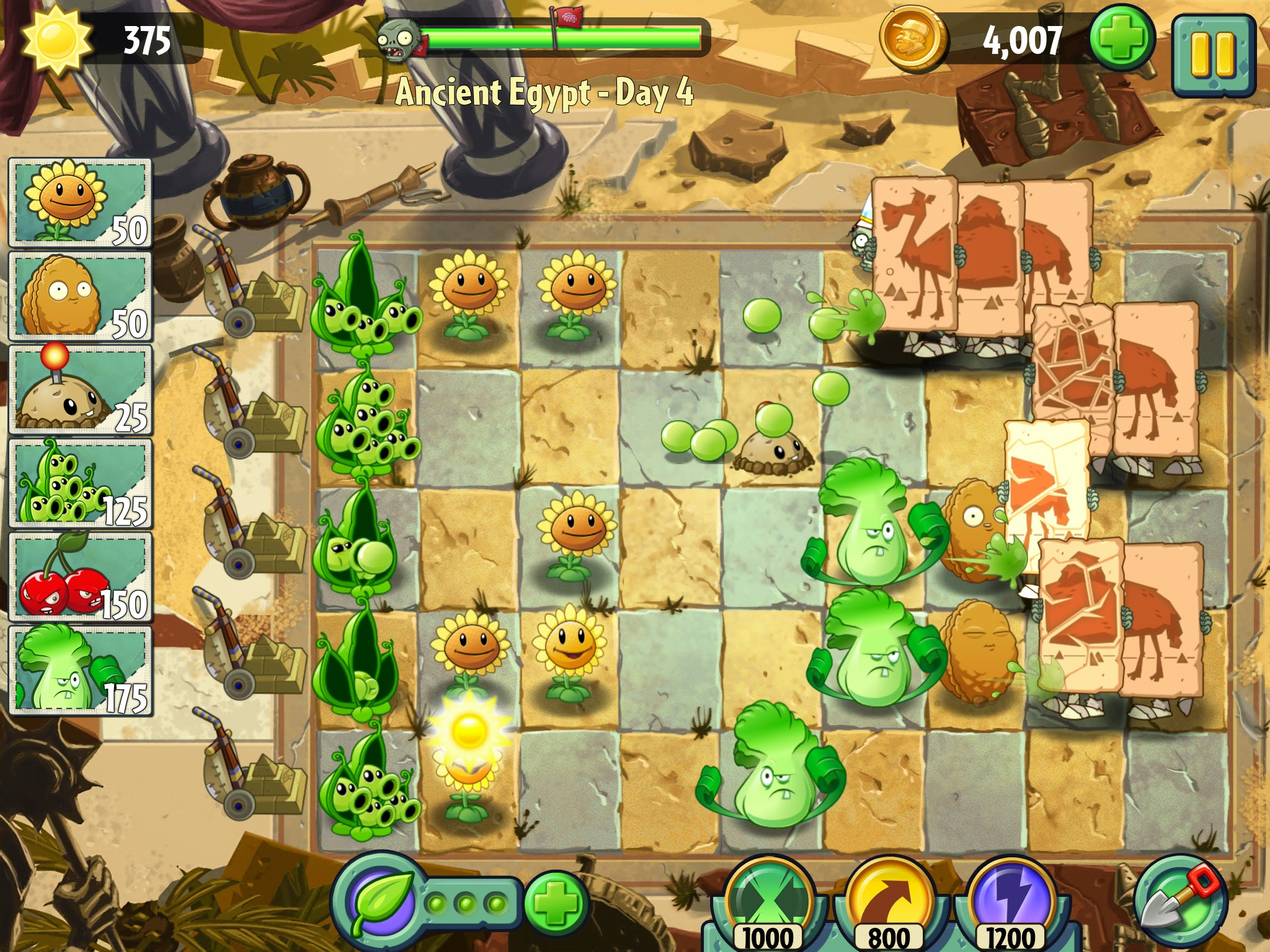 Plants Vs. Zombies 2: It's About Time lộ diện hình ảnh 15