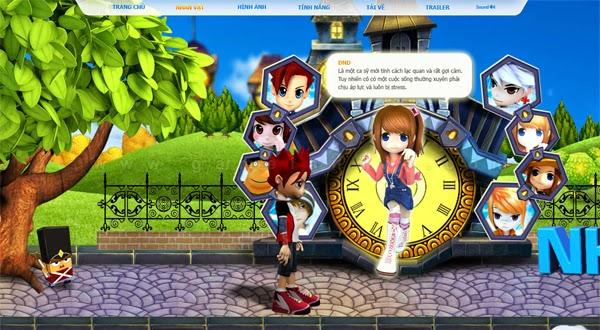 Trang giới thiệu GoGoRun đã chính thức trình làng 7