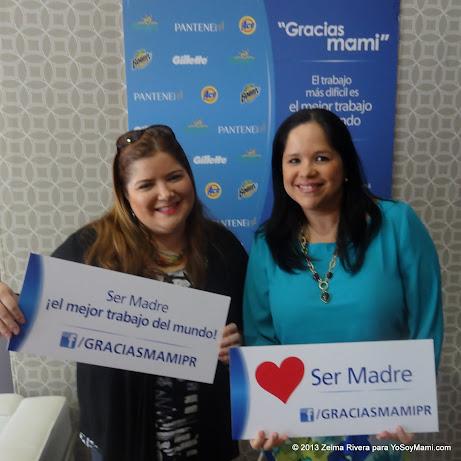 Con Anelsie Ramos de P&G