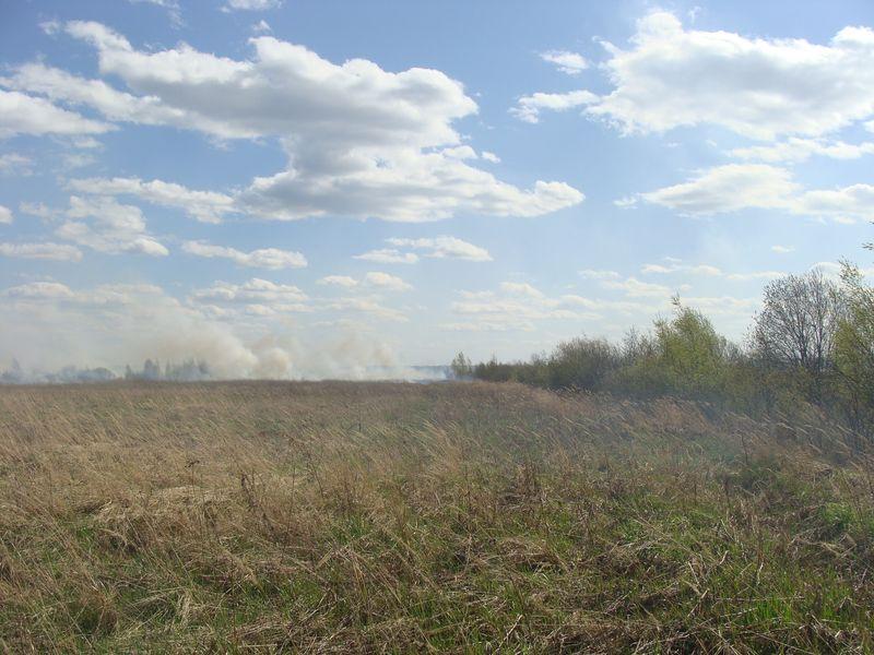 пожар в Апсарево